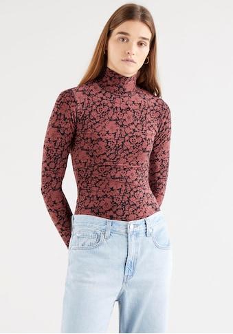 Levi's® Rollkragenshirt »by GNTM«, mit Stehkragen und Blumenoptik kaufen
