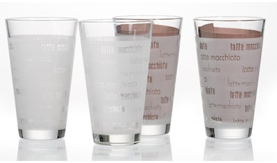 Ritzenhoff & Breker Latte-Macchiato-Glas »Chicco«, (Set, 4 tlg., (4 Becher),... kaufen