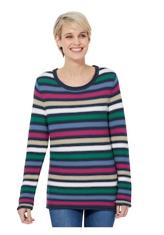 Casual Looks Pullover mit Multicolor - Ringeln kaufen