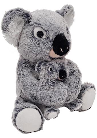 Heunec® Kuscheltier »MISANIMO Koala Bär mit Kind, 27 cm« kaufen