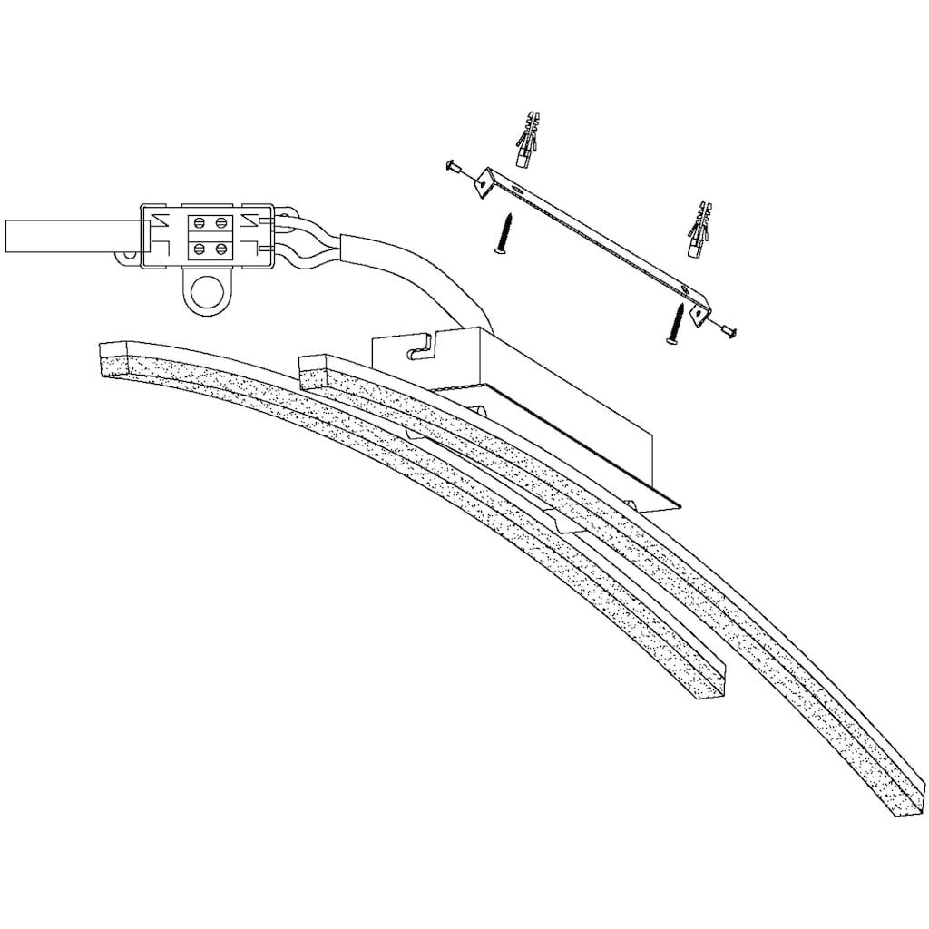 EGLO LED Deckenleuchte »PERTINI«, LED-Board, Warmweiß, LED Deckenlampe