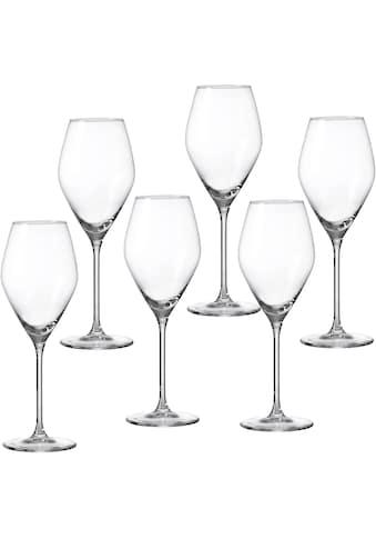 Ritzenhoff & Breker Weißweinglas »Salsa«, (Set, 6 tlg.), robust und kristallklar,... kaufen