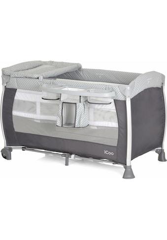 iCoo Baby-Reisebett »Starlight Diamond Grey«, inkl. Transporttasche kaufen