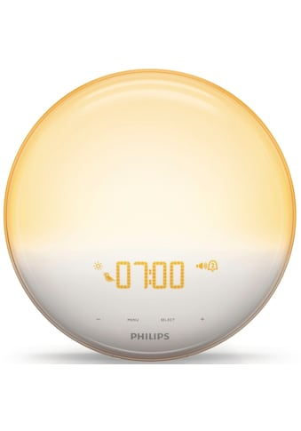 Philips Tageslichtwecker »HF3519/01 Wake Up Light«, für natürlicheres Aufwachen kaufen