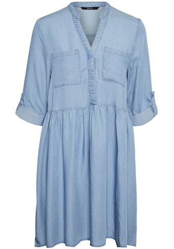 Vero Moda Jeanskleid »VMLIBBIE 3/4 LOOSE TUNIC« kaufen