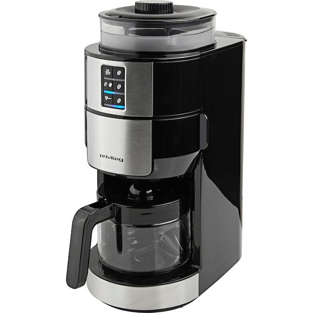 Privileg Kaffeemaschine mit Mahlwerk für 6 Tassen