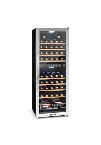Klarstein 2 Zonen Weinkühlschrank Weinklimaschrank Weinkühler 148 Liter »Vinamour 54D« kaufen