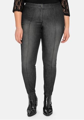 sheego by Joe Browns Stretch-Jeans, »die Schmale«, mit streckenden Biesen kaufen