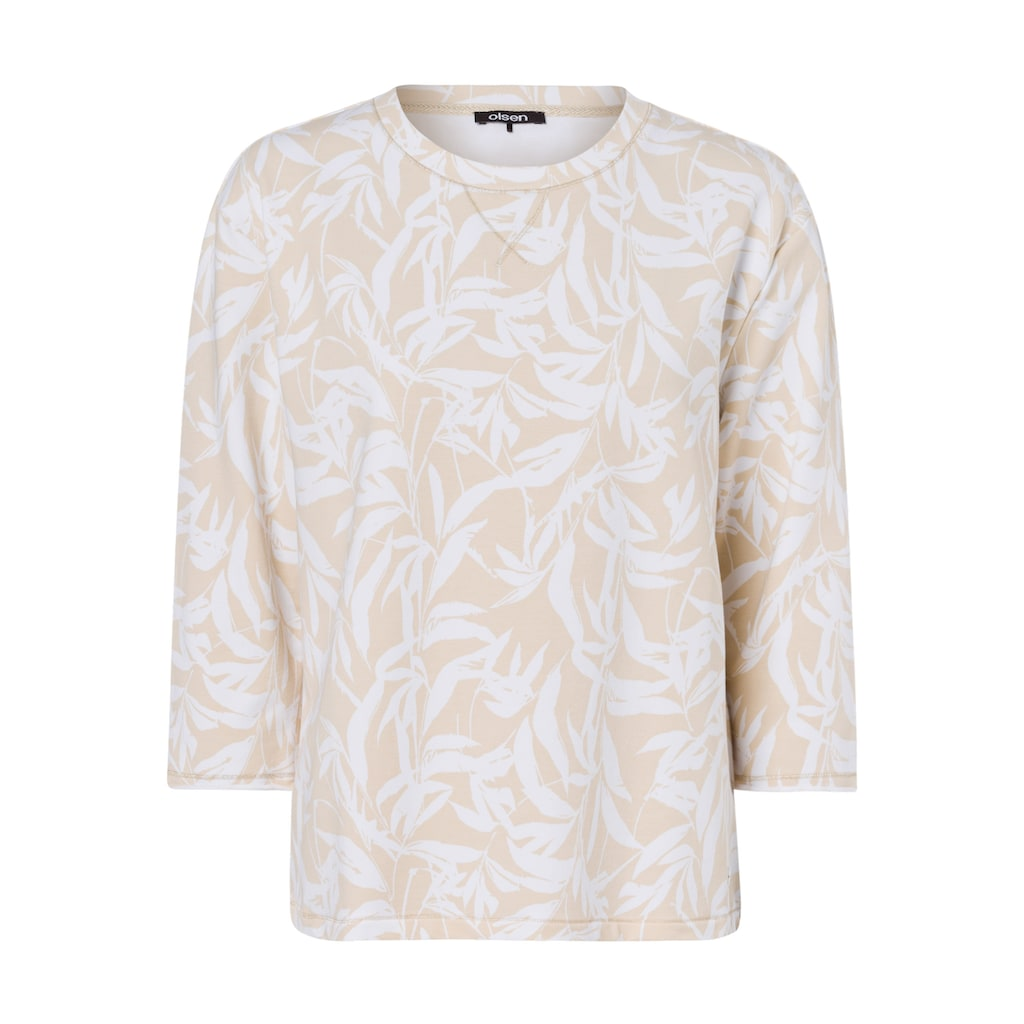 Olsen Sweatshirt, mit Bambusprint