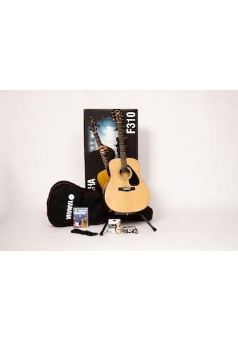 """Yamaha Westerngitarre """"Dreadnought Westerngitarrenset mit Gitarrenständer"""" 4/4 kaufen"""