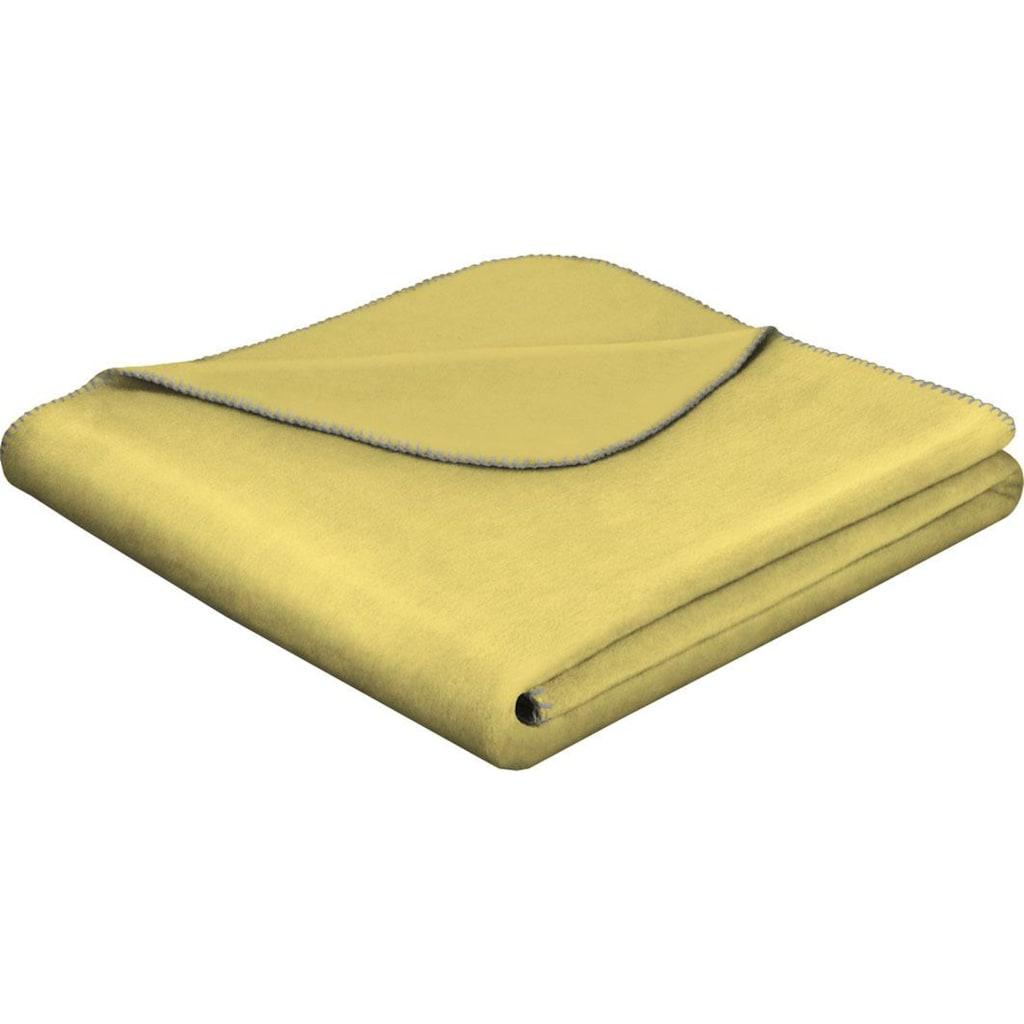 BIEDERLACK Wohndecke »Gode«, mit geketteltem Zierstich