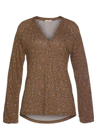 Esprit Langarmshirt, im Blusen-Stil kaufen