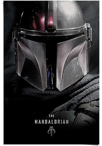 Reinders! Poster »Poster The Mandalorian Star Wars - Dark Side - Serie - Baby Yoda«,... kaufen