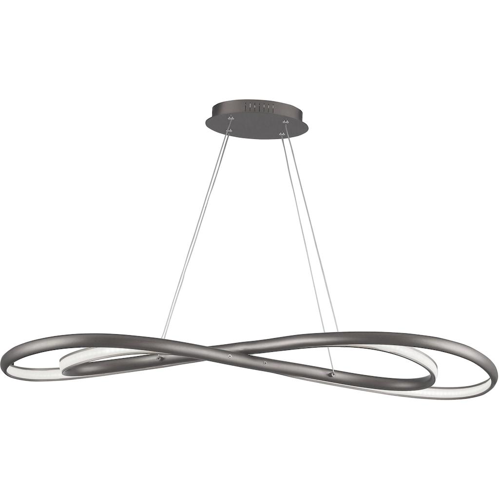 WOFI Pendelleuchte »COLLIN«, LED-Board, Kaltweiß, Hängeleuchte, WiZ-collection, Smart Home