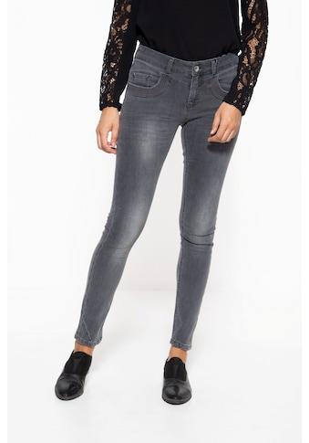 ATT Jeans Slim-fit-Jeans »Venus«, mit Strukturstickerei am Tascheneingriff kaufen