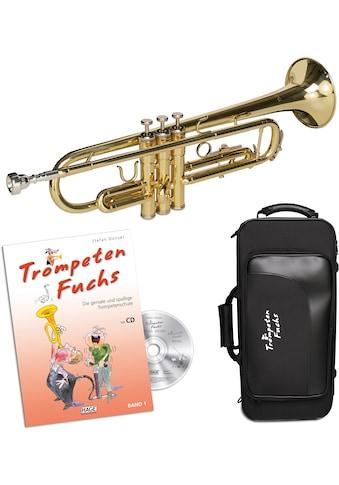 Cascha Bb-Trompete »Trompeten Fuchs Anfänger Set« kaufen