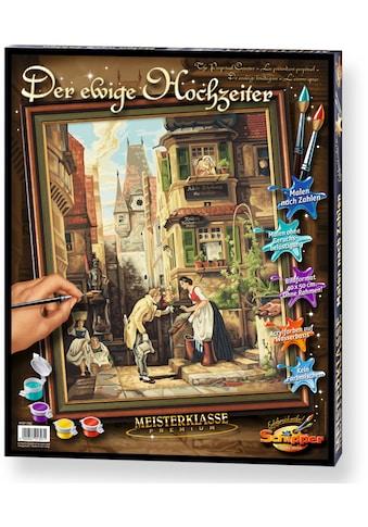 Schipper Malen nach Zahlen »Meisterklasse Premium Der ewige Hochzeiter«, Made in Germany kaufen
