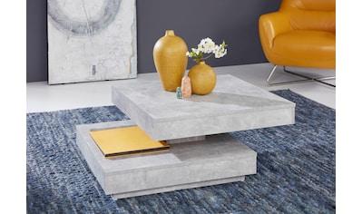 trendteam Couchtisch, mit Funktion, drehbare Tischplatte kaufen