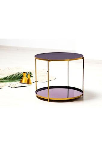 Kayoom Beistelltisch »Tessa«, rund kaufen