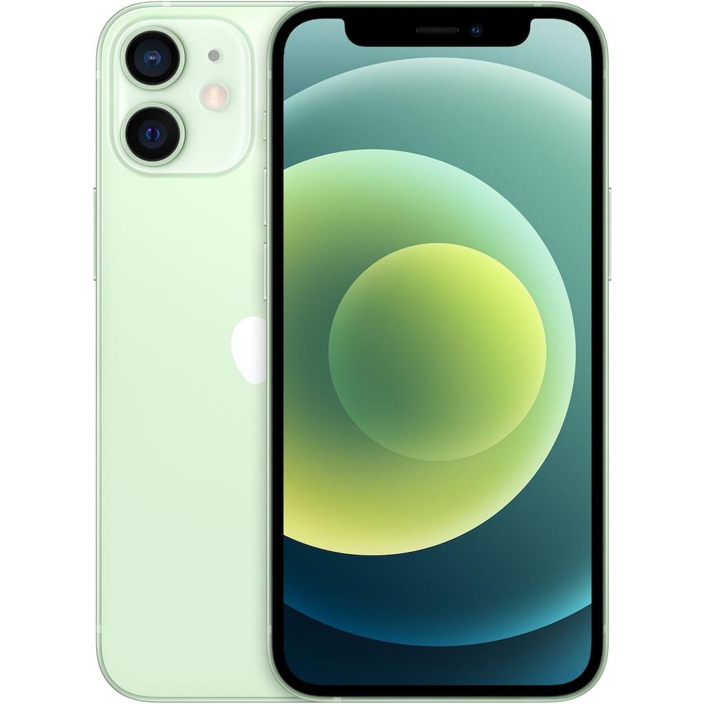 """Apple Smartphone »iPhone 12 mini«, (13,7 cm/5,4 """", 128 GB Speicherplatz, 12 MP Kamera), ohne Strom Adapter und Kopfhörer, kompatibel mit AirPods, AirPods Pro, Earpods Kopfhörer"""