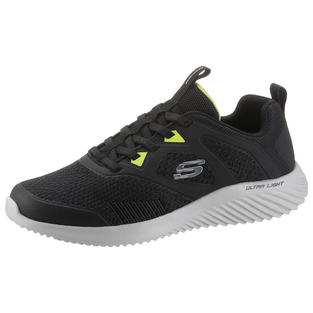 Skechers Slip-On Sneaker »BOUNDER«, mit Gummizug zum Schlupfen