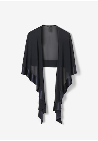 s.Oliver BLACK LABEL Chiffon/Satin - Poncho kaufen