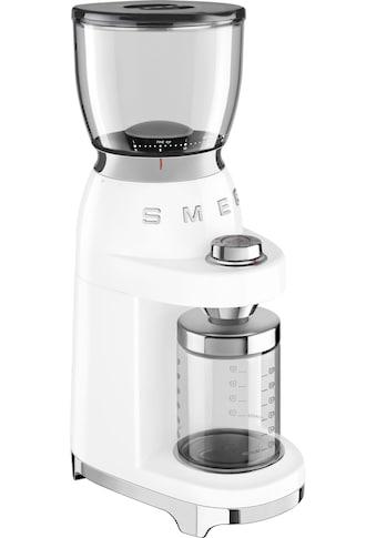 Smeg Kaffeemühle »CGF01WHEU«, 150 W, Kegelmahlwerk, 350 g Bohnenbehälter kaufen