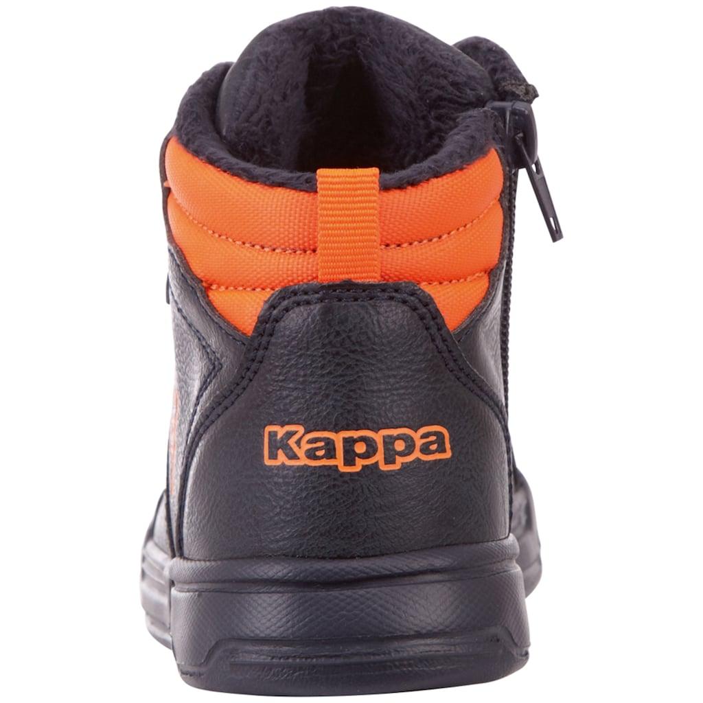 Kappa Sneaker »GRAFTON KIDS«, mit praktischem Reißverschluss an der Innenseite