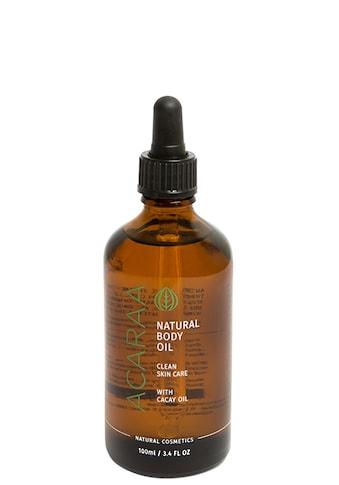 "MICARAA NATURAL COSMETICS Körperpflegemittel ""Bio Schwangerschaftsöl Anti Cellulite"" kaufen"