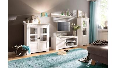 Home affaire Wohnwand »Laura«, (Set, 3 St.), mit 1 Vitrine, 1 TV-Lowboard und 1 Highboard kaufen