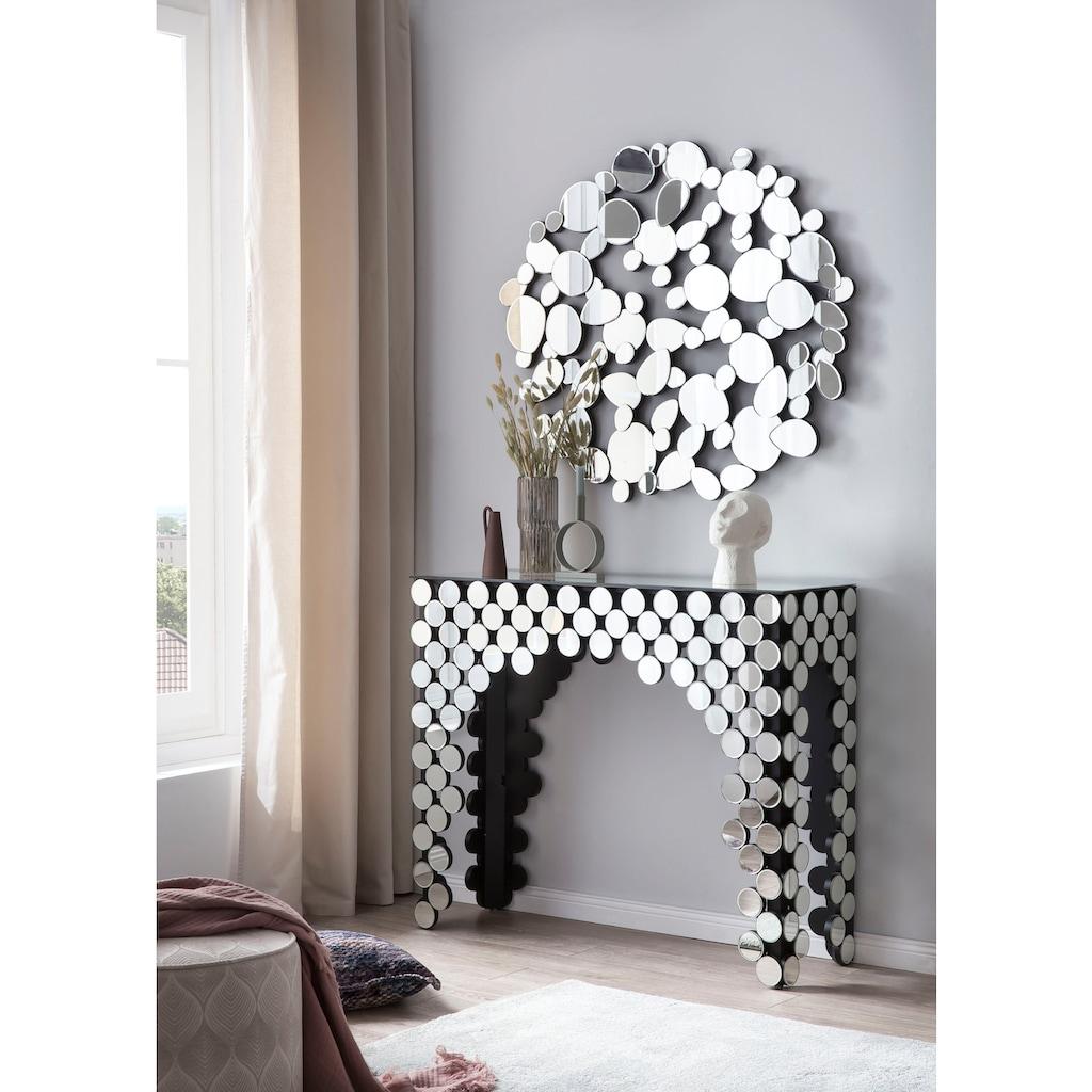 SalesFever Wandspiegel, mit ovalen Spiegelelemente