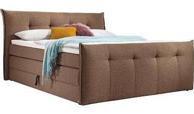 set one by Musterring Boxspringbett »Florida«, mit Bettkasten, in 5 Liegekomfortvarianten kaufen