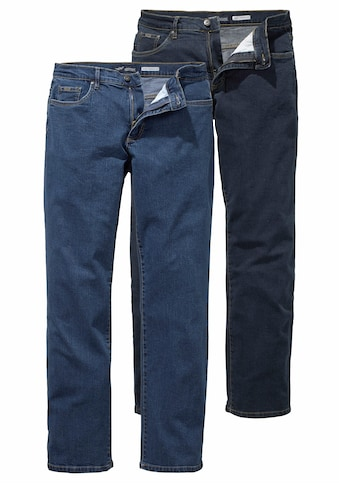 Arizona Stretch-Jeans »John«, (Packung, 2 tlg.), Straight Fit kaufen