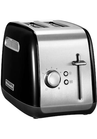 KitchenAid Toaster »5KMT2115EOB«, 2 kurze Schlitze, für 2 Scheiben, 240 W kaufen