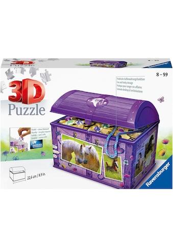 Ravensburger 3D-Puzzle »Schatztruhe Pferde«, Made in Europe, FSC® - schützt Wald -... kaufen
