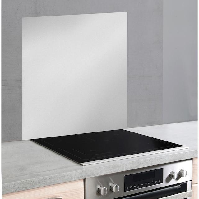 WENKO Küchenrückwand »Unifarben«, unifarbene Glasrückwand
