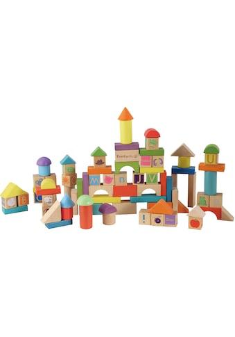 EverEarth® Spielbausteine »Holzbausteine«, (80 St.), FSC®-Holz aus gewissenhaft... kaufen