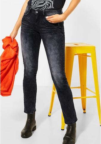 STREET ONE Comfort-fit-Jeans, mit leichten Crinkles kaufen