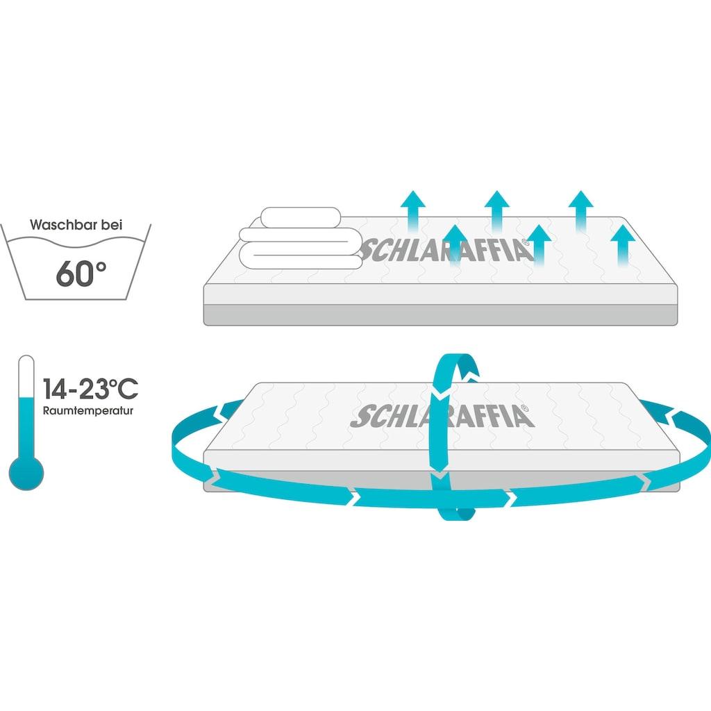 Schlaraffia Taschenfederkernmatratze »Aqua 1000 TFK«, 25 cm cm hoch, 1000 Federn, (1 St.), Matratze mit über 1000 Federn, verfügbar in Härtegrad 2 & 3 für alle Größen.