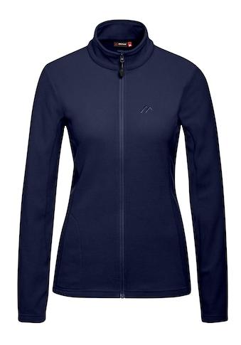 Maier Sports Fleecejacke »Kaija«, Vielseitiger und warmer Midlayer, femininer Schnitt kaufen