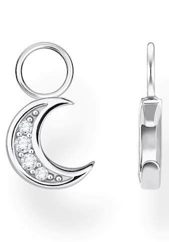 THOMAS SABO Einhänger für Ohrschmuck »Mond, EP003-051-14«, mit Zirkonia kaufen