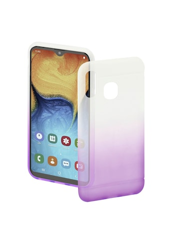 Hama Handyhülle »Schutzhülle, Transparent/Lila«, für Samsung Galaxy A20e kaufen