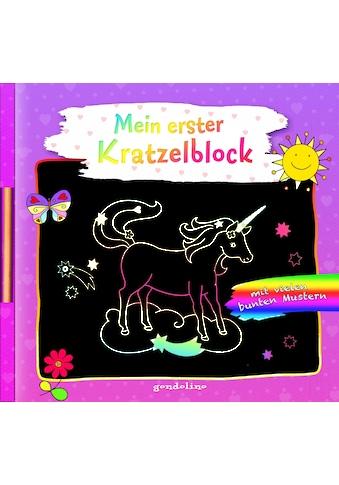 Buch »Mein erster Kratzelblock (Einhorn) / gondolino Kratzelwelt, Kristin Labuch« kaufen
