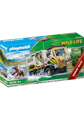 Playmobil® Konstruktions-Spielset »Expeditionstruck (70278), Wild Life«, Made in Europe kaufen
