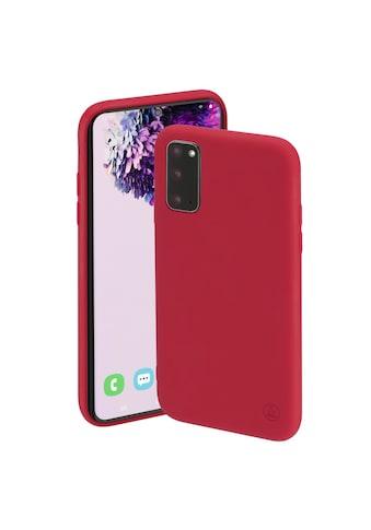 """Hama Smartphone-Hülle »Smartphone-Cover """"Finest Feel""""«, für Samsung Galaxy S20 (5G) kaufen"""