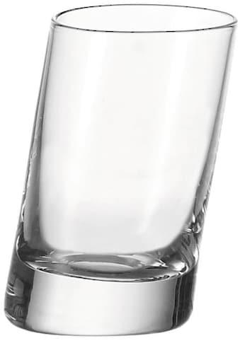 LEONARDO Schnapsglas »PISA«, (Set, 6 tlg.), sehr starker Glasboden, 6-teilig kaufen