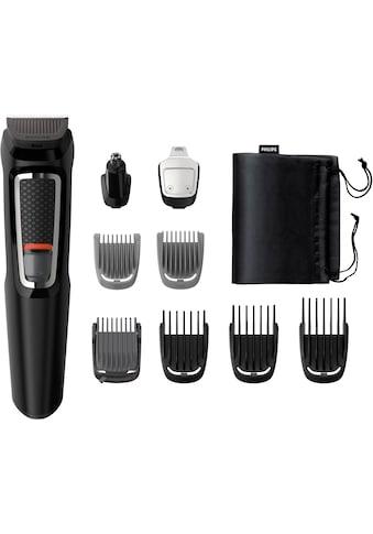 Philips Haar- und Bartschneider »MG3740/15«, 9 Aufsätze, 9-in-1, für Gesicht und Haare / Selbstschärfende Edelstahlklingen / Abwaschbare Aufsätze kaufen
