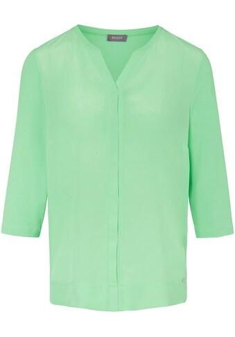 Basler Blusenshirt mit verdeckter Knopfleiste und ¾ - Ärmeln kaufen