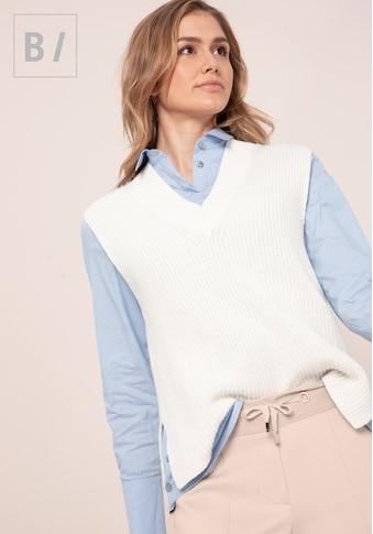 bianca Pullunder »VICKY«, stylischer Pullunder mit tiefem V-Neck kaufen