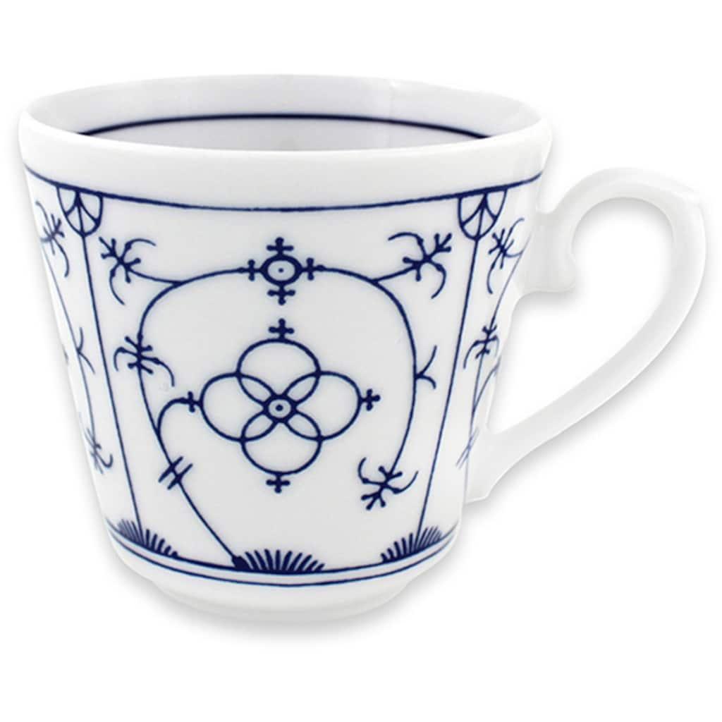 "Eschenbach Kaffeeservice ""Winterling - Indischblau"" (18-tlg.), Porzellan"